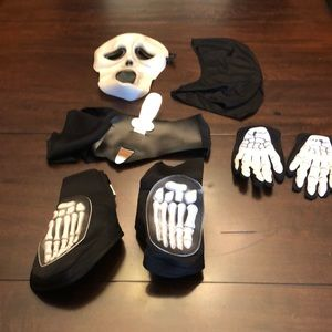 Other - Skeleton parts costume.